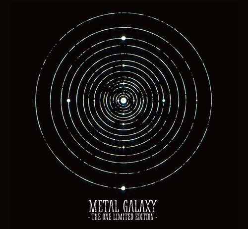 3rdアルバム『METAL GALAXY』THE ONE - THE ONE Limited Edition – 収録内容詳細・2次受付決定DEATH!!