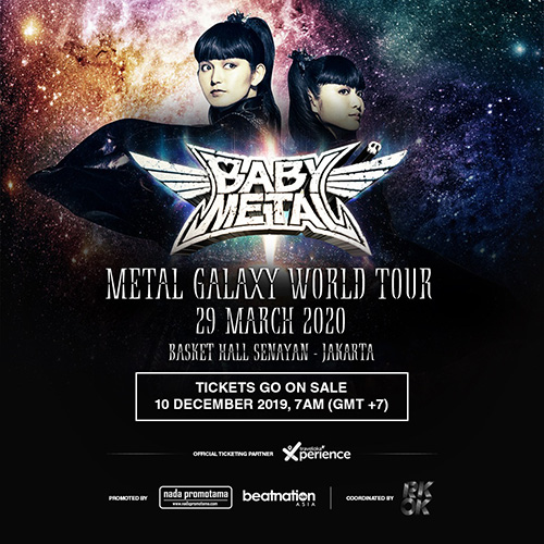 METAL GALAXY WORLD TOUR IN ASIA (JAKARTA) 詳細発表DEATH!!